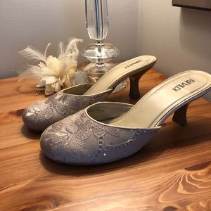 Shoes - Rinaldi champagne slipper heel